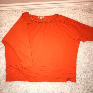 MICHAEL Michael Kors blouse xl slits down sleeve